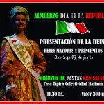 Presentación de la Reina de la Colectividad Italiana