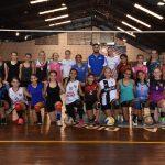 Segundo entrenamiento de la Selección Misionera U15 de Voley Femenino