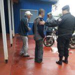 La Policía rescató a un hombre que se encontraba en situación de calle en Oberá