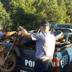 Operativos de Prevención:  retienen cuatro motocicletas y una licencia de conducir
