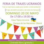 El domingo Feria de trajes ucranianos