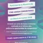 Oberá en Cortos 2018: convocatoria a jóvenes
