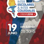 Acto inaugural de los Inter-escolares e inter-colegiales