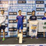 Santiago Caso Campeón Nacional de Natación Cadetes