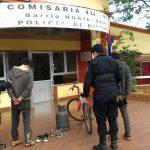La Policía recuperó elementos sustraídos y detuvo a los presuntos autores