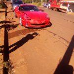 Mecánico salió a probar un Corvette z06 y terminó chocando en Oberá