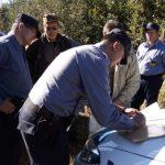 La Policía brindó apoyo al Ministerio de Ecología en un megaoperativo