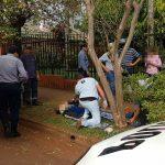 Motociclista terminó hospitalizado tras un despiste en Oberá