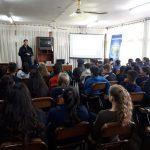 La Policía Comunitaria  intensifica las charlas para prevenir   violencia escolar y adicciones