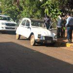 Recuperaron un automóvil robado y buscan intensamente al autor del hecho