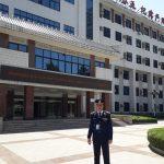 Policía misionero participa de un seminario de capacitación en China