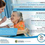 Capacitarán para el programa nacional de Cuidadores Domiciliarios