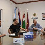 Firma de convenio entre el municipio y la FADEPAC
