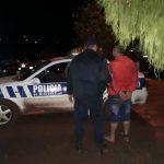 Amenazó a su pareja, agredió a Policias y fue detenido