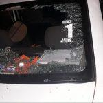 Vándalos dañaron un móvil policial en Oberá