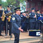 Con un ovacionado espectáculo de la Banda de Música, la Policía de Misiones rindió homenaje a Oberá por sus 90 años