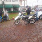 Mediante una intensa investigación la Policía detuvo a dos jóvenes y recuperó una motocicleta sustraída
