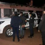 En un amplio operativo policial  recuperan una motocicleta robada y detienen a un joven en Oberá