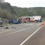 Colisión frontal dejó como saldo dos personas fallecidas y 5 lesionados en San Martín