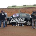 Tras una rápida investigación la Policía recuperó elementos robados y detuvo a los presuntos autores