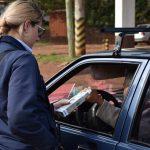 Operativos de tránsito con alcoholímetro