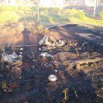 Se incendió una casa y falleció un hombre de 44 años