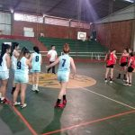 Las chicas se preparan para los Juegos Deportivos Misioneros