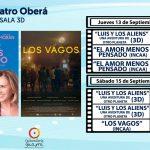 """Renovada cartelera del Cine Teatro Oberá comenzando con el estreno de """"Los Vagos"""""""