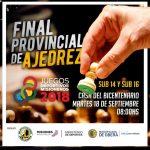 Final Provincial de Ajedrez