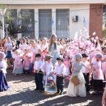 Los jardines infantiles realizaron su desfile