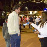 Efectos del consumo excesivo de sal: Entrega de folletos en el Parque de las Naciones