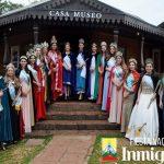 Recepción de Reinas Invitadas a la FNI 2018