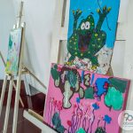 Muestra de taller de Arte Educación Especial 1309
