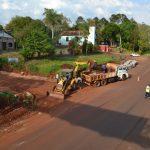Tránsito restringido por obras