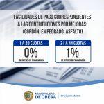 Continúa el Plan de Regularización de deudas por los tributos municipales