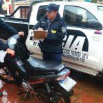 Recuperan una motocicleta robada y buscan intensamente a los autores del ilícito
