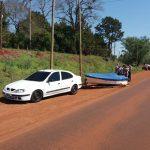 Dos personas fueron  hospitalizadas tras un siniestro vial en la ruta 5