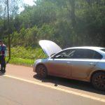La Policía secuestró un automóvil sin documentaciones y averigua su procedencia