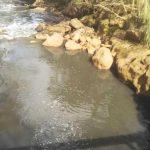 Alertaron sobre derrame tóxico en el arroyo Mbotaby