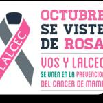 La CRIPCO apoya campaña de Lalcec por la prevención del cáncer de mama