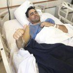 Carlitos Okulovich fue operado con éxito