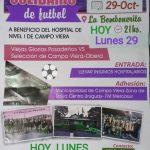 Ex Glorias del fútbol provincial juegan hoy el partido solidario en Campo Viera