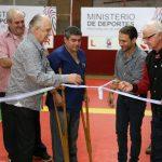 La Federación de Bochas y el club Independiente inauguraron canchas sintéticas en Oberá