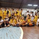 Encuentro de escuelas de básquet