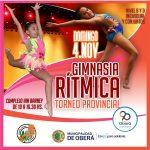 Oberá sede del último torneo provincial de Gimnasia Rítmica