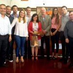 El Concejo Deliberante entregó Diploma al Mérito a la Prof. Myriam Sosa