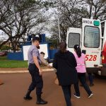 Policías reanimaron a una mujer que se descompensó en la vía pública