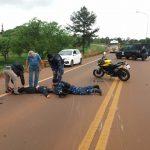 Integrantes de Infanteria reanimaron a víctima de un siniestro vial en la ruta 14