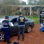 La Policía recuperó en Oberá un automóvil robado en Buenos Aires