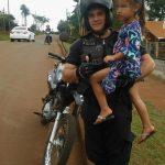 Mediante una rapida intervención la Policía encontró a  una niña perdida en Oberá